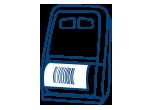 Stampante Portatile per Ricevute -Ticket